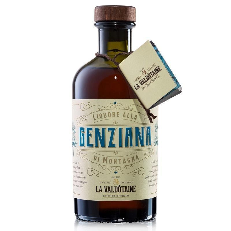 Liquore alla Genziana di Montagna La Valdotaine