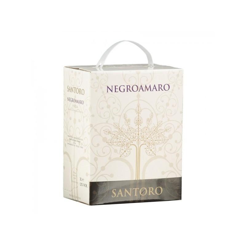 Bag in Box 3 Litri Vino Rosso Negroamaro Puglia IGP