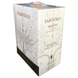 Bag in Box 3 Litri Vino Rosso Primitivo Puglia IGP