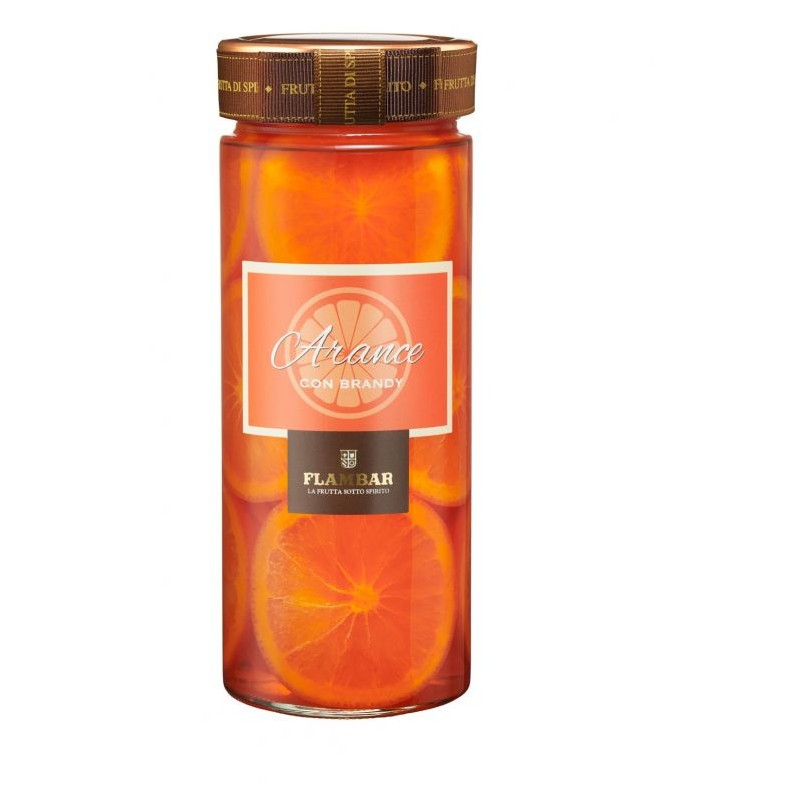 Frutta al Liquore Arancia al Brandy Flembar Mazzetti d'Altavilla