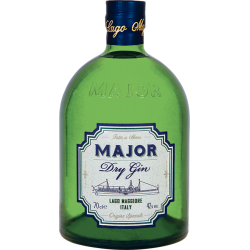 Major Dry Gin Lago Maggiore Major