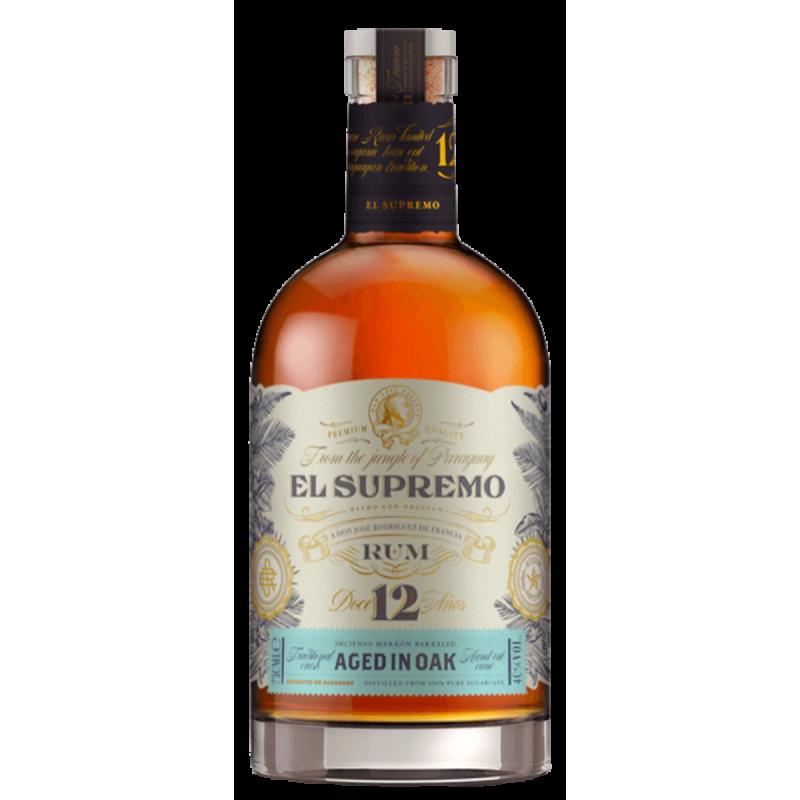 Rum 12 Anos El Supremo