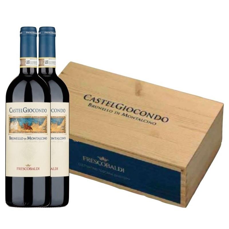 Brunello di Montalcino DOCG Castelgiocondo Frescobaldi Cassa 2 Bottiglie