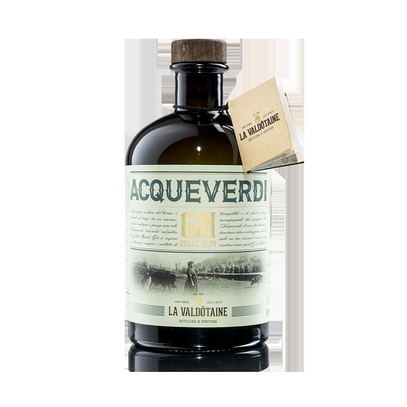 Gin delle Alpi Acqueverdi La Valdotaine