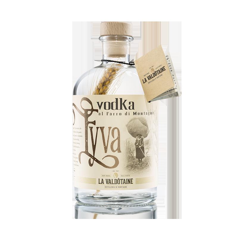 Vodka al Farro di Montagna Eyva La Valdotaine