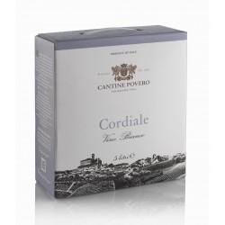 Bag in Box 5 Litri Cordiale Vino Bianco da uve Cortese Cantine Povero