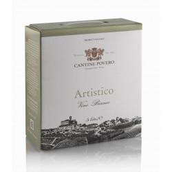 Bag in Box 5 Litri Artistico Vino Bianco da uve Roero Arneis Cantine Povero